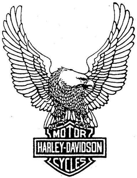 harley davidson coloring pages harley davidson eagle drawings coloring pages