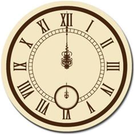 printable midnight clock clock face midnight gothic clock face with cinderella