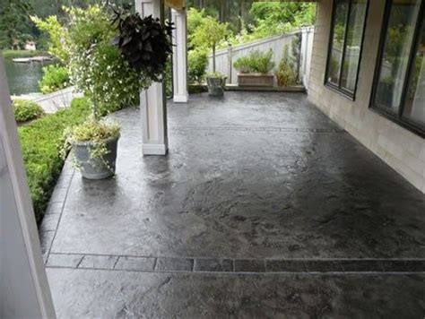 concrete staining outdoor spaces pinterest stained