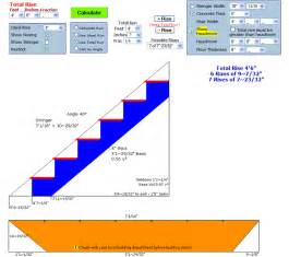 Stair Design Calculator by Stair Stringer Design Calculator Spreadsheet Building