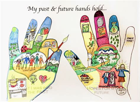 therapy ideas cynthia emerlye s art therapy group trace your hands and