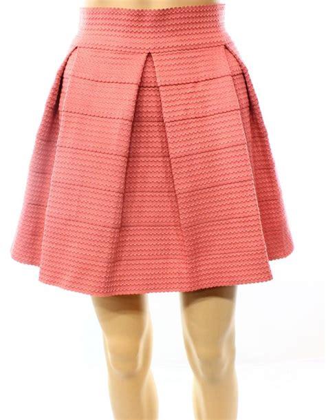 devlin s size xs textured skater pleated skirt