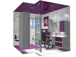 salle de bain 3d avec accessibilit 233 pour personnes 224
