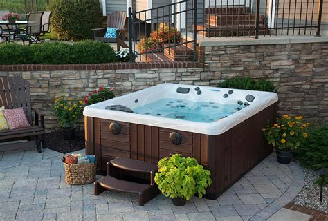 backyard ideas with hot tub backyard ideas for hot tubs and swim spas