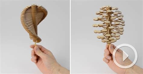 mathematically precise kinetic sculptures  toys  john