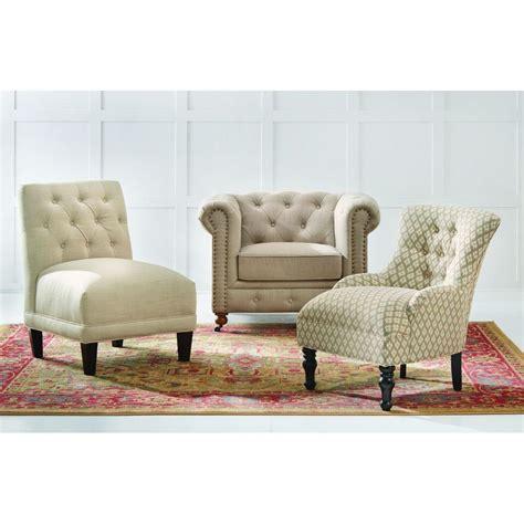 home decorators accent chairs home decorators collection gordon natural linen arm chair