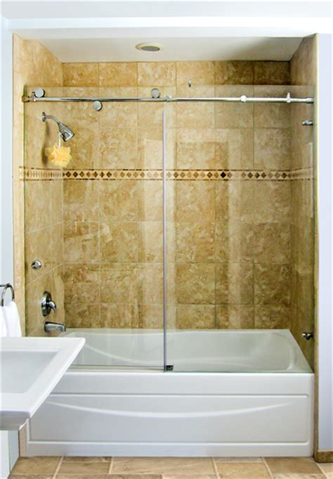shower doors over bathtub shower doors custom glass shower doors and enclosures