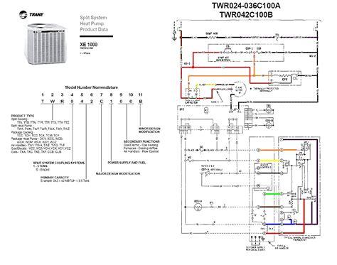 trane compressor wiring diagram wiring diagram with
