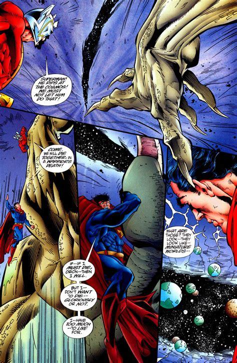 Miniature Superman Blue 041a Superman And Dc Comics thanos silver surfer vs despero superman battles