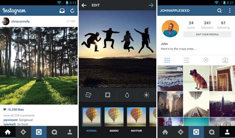 instagram full version for android instagram receives a new update brings a refreshed user