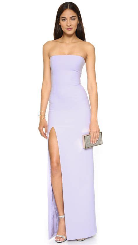 Elisabeth Dress elizabeth and seiler gown in purple lyst