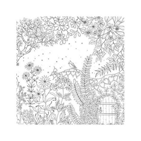 Secret Garden An Inky Treasure Hunt Colouring Book