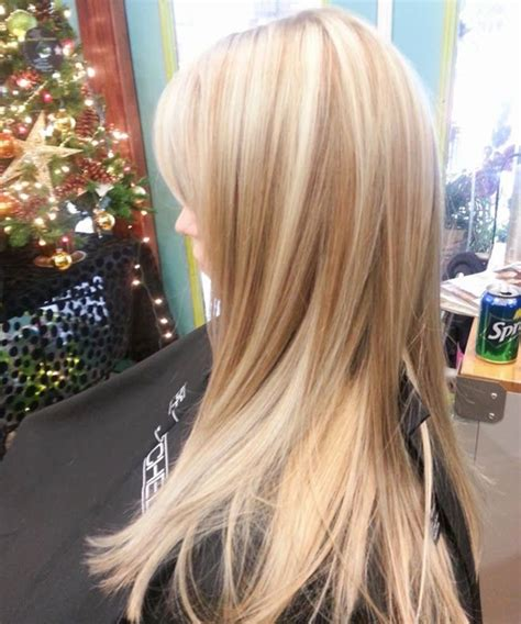 hairstyles with lowlights cutest platinum blonde with brown lowlights hairstyles