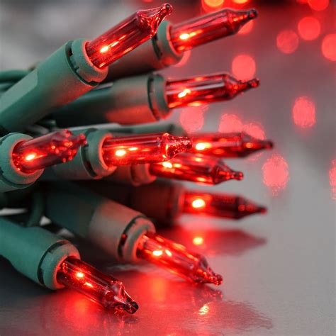 red green mini christmas lights 100 count red christmas string lights