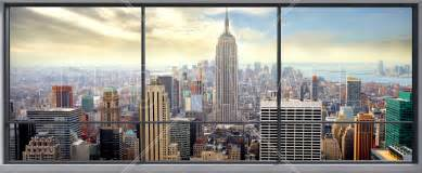 Times Square Wall Mural penthouse window view wall mural amp photo wallpaper