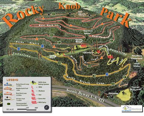 Rocky Knob Boone Nc by Rocky Knob Mountain Bike Park Boone S Mountain Bike Park