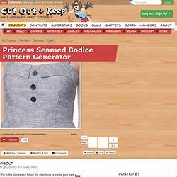 online bodice pattern generator clothing patterns pearltrees