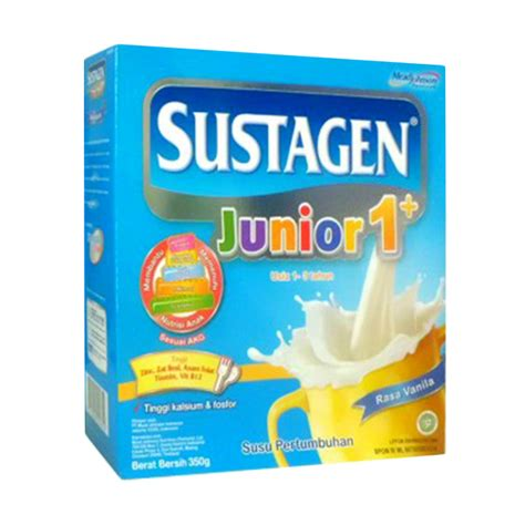 Sustagen Junior 1 Rasa Vanila Untuk Usia 1 3tahun 1200gr jual sustagen junior junior 1 350g harga kualitas terjamin blibli