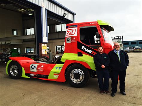 truck racing uk g truck sponsor rooster racing team in truck