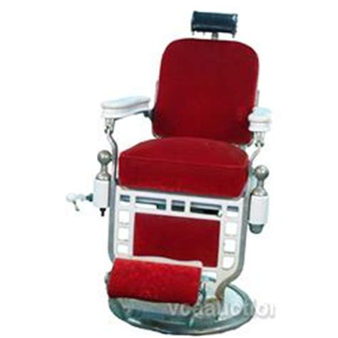 Theo A Kochs Barber Chair by Theo A Kochs Barber Chair White