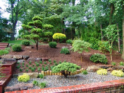 japanese garden backyard front yard landscaping ideas landscape asian with hill