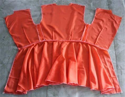 cara simple buat baju sweet and simple cara jahit baju kurung peeplum