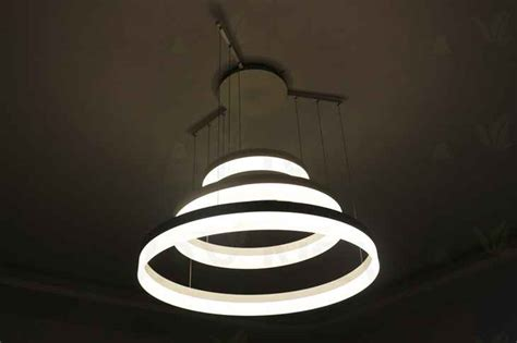 light fixture ring led ring pendant light fixture lustre led suspension