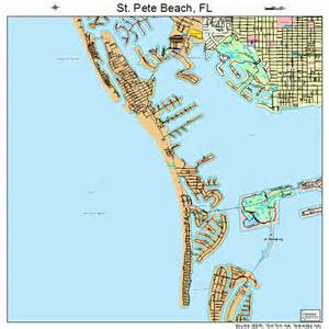 st pete florida map 1262885