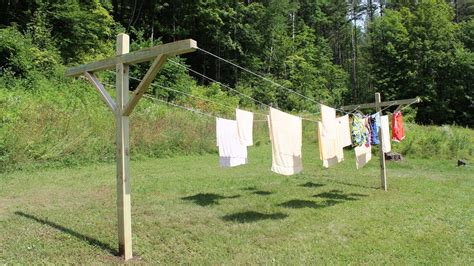 how to make build a clothesline by jon peters