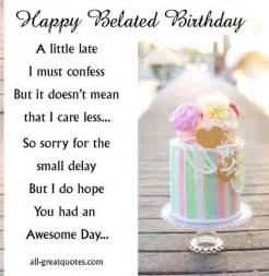 25 best ideas about happy belated birthday on belated birthday greetings happy