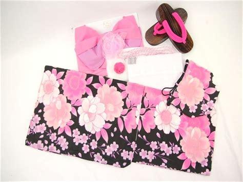 Dress Flower Blossom Set 1 cherry blossom yukata set 10item pink flower kimono dress
