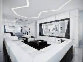 d 233 co design appartement noir et blanc futuriste