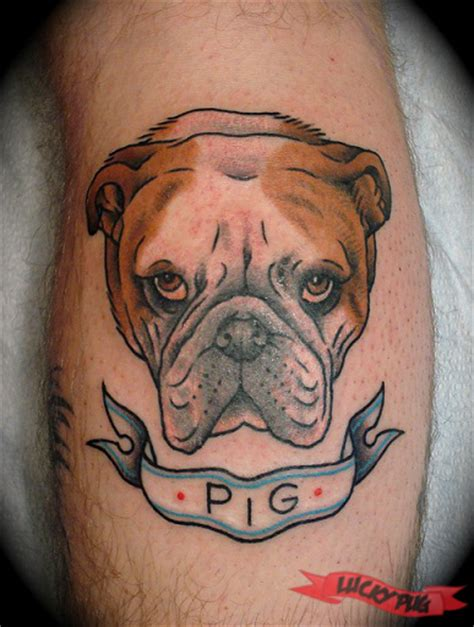 bulldog tattoos bulldog tattoos boxer boston terrier
