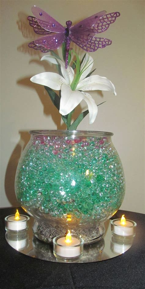 water pearl centerpieces 1000 ideas about water centerpiece on
