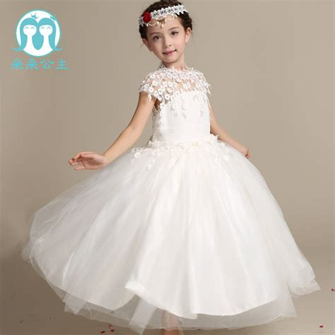 a new dress for my son top selling flower girl dress child 2016 spring new palace