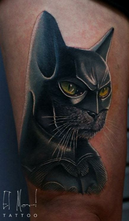 batman the cat tattoo inkstylemag