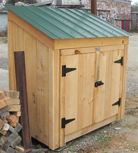 Bin Sheds by Our 3 X 5 Quot Garbage Bin Quot Is Available As Shed Kits Diy