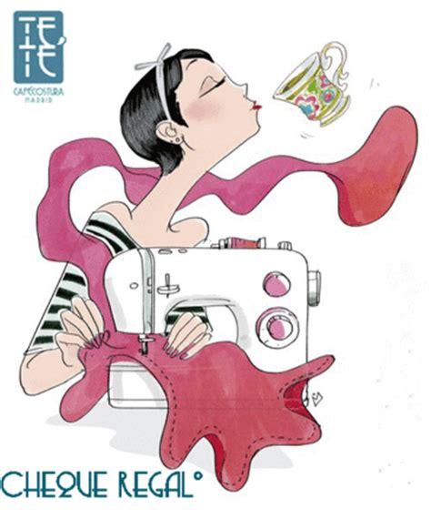 máquina de coser + 1 café por 7 euros