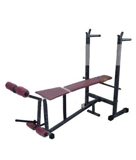 buy bench press set bodyfit 6 in 1 weight lifting multi purpose bench press