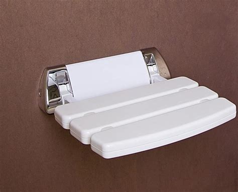 Bathroom Shower Seats Wall Mounted Folding Shower Seat Wall Mounted Bathroom White Mobility Aid Ebay