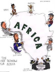 Enrichment activity scramble for africa imperialism in africa