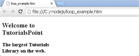 tutorialspoint recursion less loops