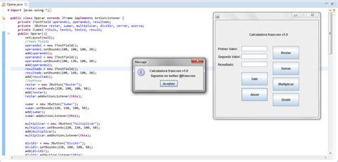 setbounds in java swing mini calculadora en java swing biblioteca gr 225 fica blog
