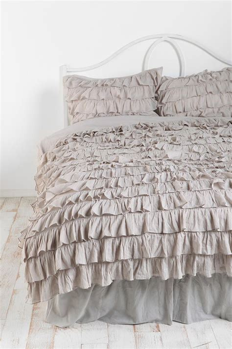 gray ruffle bedding 1000 images about new year on pinterest