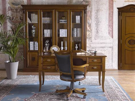scrivanie di lusso scrivania classica di lusso con 4 cassetti per uffici