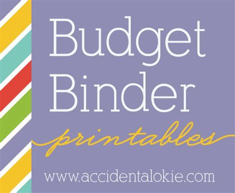 budget cover page template budget binder printables www accidentalokie tips