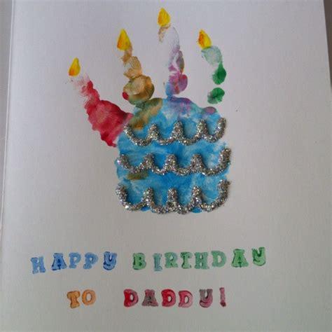 card handprint handprint birthday card gift ideas