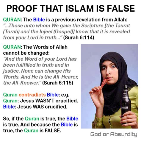 Meme Islam - god or absurdity blog is quoting the quran now banned on