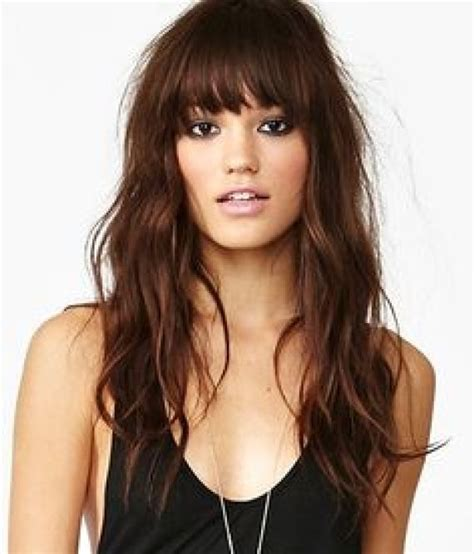 hairstyles bangs for 2015 20 hairstyles with bangs to inspire you for fall 2015