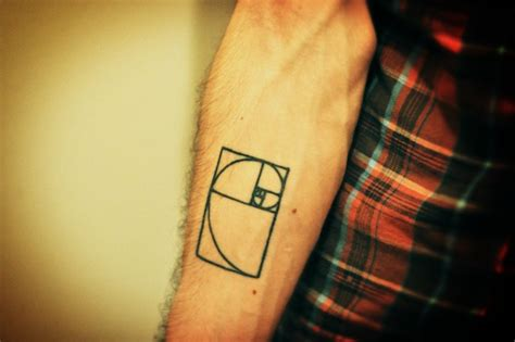 golden ratio tattoo fibonacci on architecture